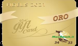 Card Oro
